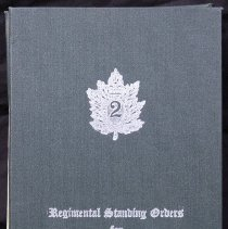 Image of 1965 Regimental Standing Orders