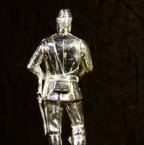 Image of Back of Mrs Pring Statuette