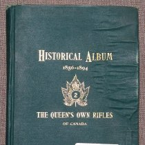 Image of Historical Album 1856-1894 The Queen's Own Rifles of Canada - 1894/00/00