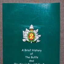 Image of A Brief History of the Buffs and The King's Royal Rifle Corps - 00307