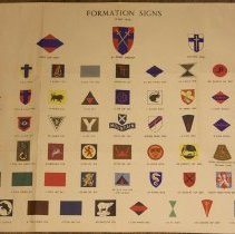 Image of WWII Canadian Formation Signs - 1945/05/08