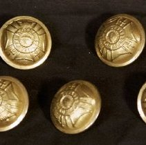 Image of Brass Buttons - Royal Forrester Unit