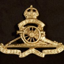 Image of Royal Canadian Artillery Cap Badge