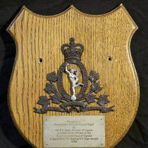 Image of Plaque from Royal Canadian Corps of Signals