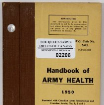 Image of Handbook of Army Health 1950 -