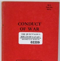 Image of Conduct of War 1950 - 1950/  /