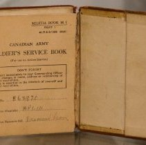 Image of Soldier's Service Pay Book, Desmond Leon Aplin -