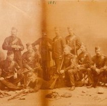 Image of 1881 Rifle Team - 1881/  /