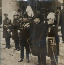 Image of Senior Officers 1910 Trip March Past - 1910/  /