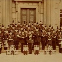 Image of Bugle Band, 1st Battalion, The Queen's Own Rifles of Canada - 1960/  /