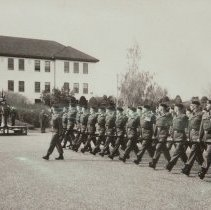 Image of 1st Battalion March Past           -