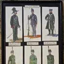 Image of Queen's Own Rifles Uniform Illustrations -