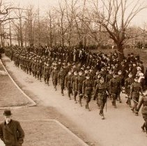 Image of Queen's Own Rifles on Parade in Toronto 1913 -