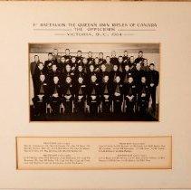 Image of 1st Battalion QOR, Victoria, 1964