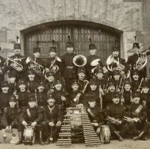 Image of Regimental Band, Queen's Own Rifles 1910 - 1910/  /