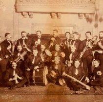 Image of The Band circa 1875        - 1875/  /
