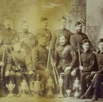 Image of QOR Rifle Team circa 1880 - 1880/  /