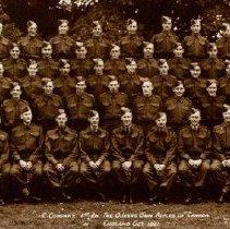 Image of C Company QOR England October 1941 - 1941/10/