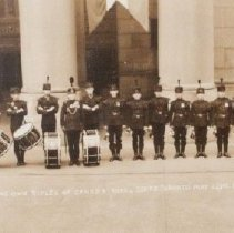 Image of Bugle Band, Queen's Own Rifles of Canada, Royal Guard 1939 - 2305/19/39