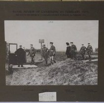 Image of Royal Review of Canadians 4 February 1915  - 1915/02/04