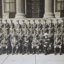 Image of Officers, The Queen's Own Rifles of Canada Toronto 1928 - 1928/  /