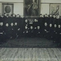 Image of QOR Sergeants' Mess Meeting Nov. 4 1938 - 1938/11/04