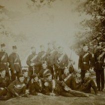 Image of QOR at Fort Niagara 1885 - 1885/  /