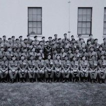 Image of Warrants and Sr NCOs of 1st Battalion QOR 1956