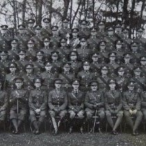 Image of Sr NCOs of the 2nd Bn The Buffs with a Det of QOR 1935 - 1935/10/