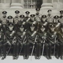 Image of Subalterns of 3rd Battalion, The Queen's Own Rifles of Canada (Militia) 24 May 1959 - 1959/05/24