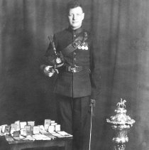 Image of C.S.M. Norman J. McLeod, (S.C.) Vice President, 1933-1944 - The Sergeants' Mess of the Queen's Own Rifles of Canada -