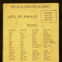 Image of Lists of Phrases -