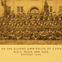 Image of 1st BN The Queens Own Rifles of Canada  - 1945
