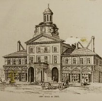 Image of St Lawrence Hall, Toronto - formerly the City Hall - 1851 - 1851/  /