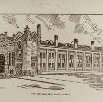 Image of The Old Armoury, Jarvis Street, 1877 - 1877/  /