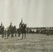 Image of 1908 Quebec Tercentenary Review March Past - 1908/07/24