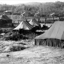 Image of Tent Lines of HQ Company in Korea - 1955/  /
