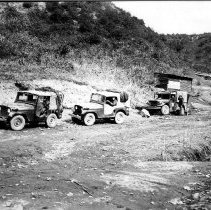 Image of RSM William Demmy and his crew out on a patrol in Korea - 1955/  /