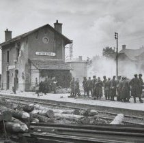 Image of Bernere Train Station on D-Day - 1944/06/