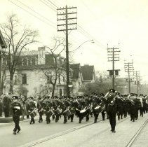 Image of Bugle Band and Military Band of The Queen's Own Rifles of Canada, 1950 - 1950/  /