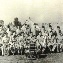 Image of Brass Band, 2nd (Res) bn QOR Niagara Camp July 1945 - 1945/07/
