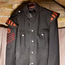 Image of Full Dress Band Sergeant Uniform - H.S. Wilson - 1954/06/14