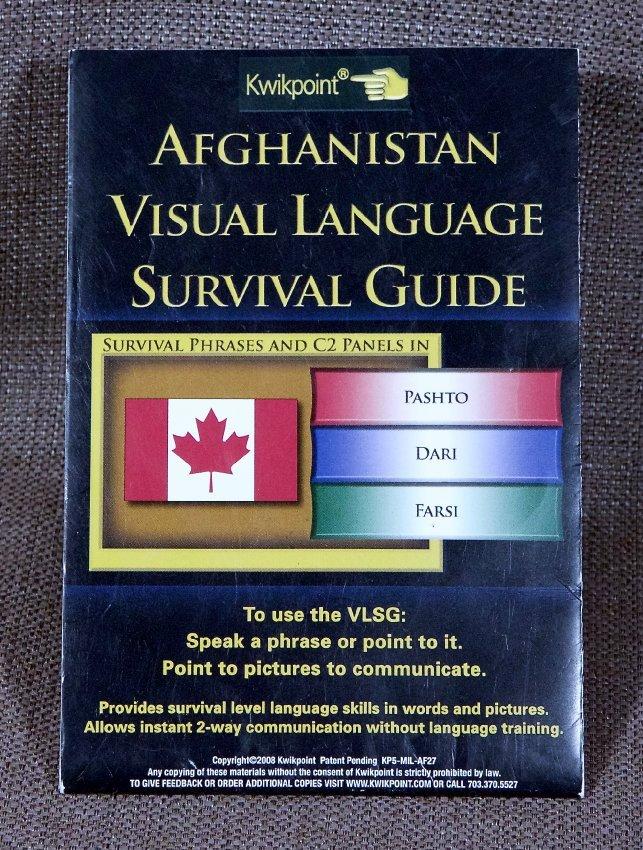 Afghanistan Visual Language Survival Guide - 2017 16 008