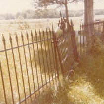 Image of Old Weaver Family Cemetery - 1978