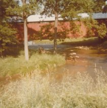 Image of Old Poole Forge Road covered bridge -