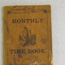 Image of A. McPherson & Co. time book