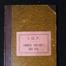 Image of IOF Account Book