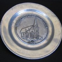 Image of Commemorative Plate, 1868