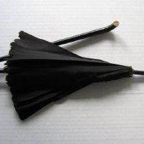 Image of Black Silk Parasol