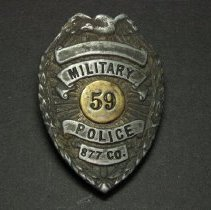 Image of Military Police shield  #59